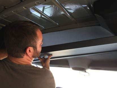 Headliner Shelf Installation